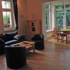 Living room – wheelchair accessible Apartment Berlin