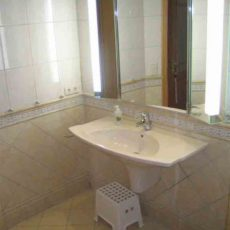 Bath room – wheelchair accessible Apartment Berlin