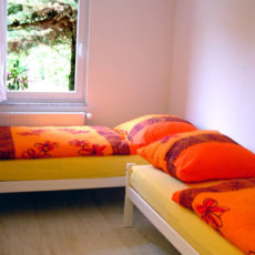 Doubleroom – wheelchair accessible Bungalow Berlin