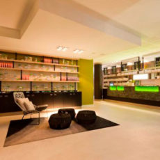 Lobby – barrierefreies First Class Design Hotel Berlin Alexanderplatz