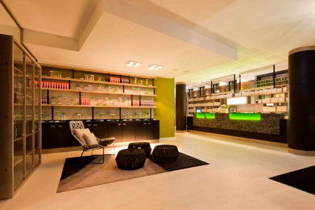 Lobby – Accessible First Class Design Hotel Berlin City East