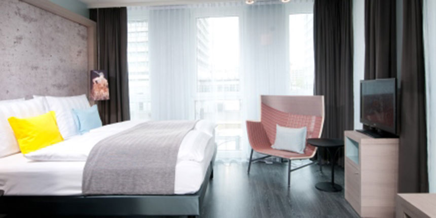Wheelchair accessible First Class Design Hotel Berlin City East
