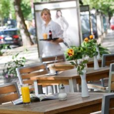 Open-air restaurant – wheelchair accessible Hotel Berlin City West Kurfuerstendamm