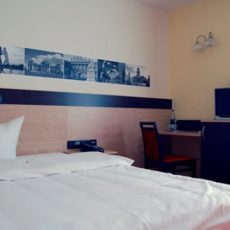 Bedroom – wheelchair accessible Hotel of Integration Berlin Karlshorst
