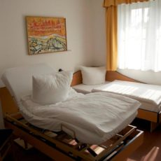 Adaptable bed – wheelchair accessible Hotel of Integration Berlin Karlshorst